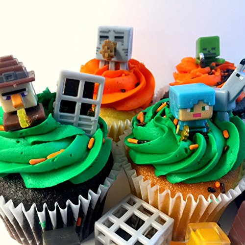 Miner-Themed-Cake-Cupcake-Topper-24-pcs