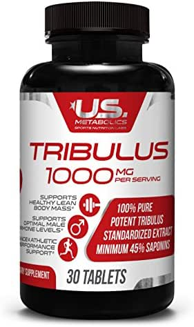*Flash Sale* Tribulus 1000 mg 30 Tabs - Natural Test Boost | Powerful Male Enhancement | Supports Muscle Growth | Stamina | Vitality | Promotes Energy | Endurance