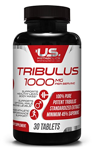 Tribulus 1000 mg 30 Tabs – Powerful Male Enhancement | Muscle Growth | Stamina | Boost Sexual Libido Health | Vitality | Energy For Sale