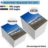 ESTON #122 XL Black/Color Ink for Deskjet 1000 1050 2050 2050s 3000 3050A