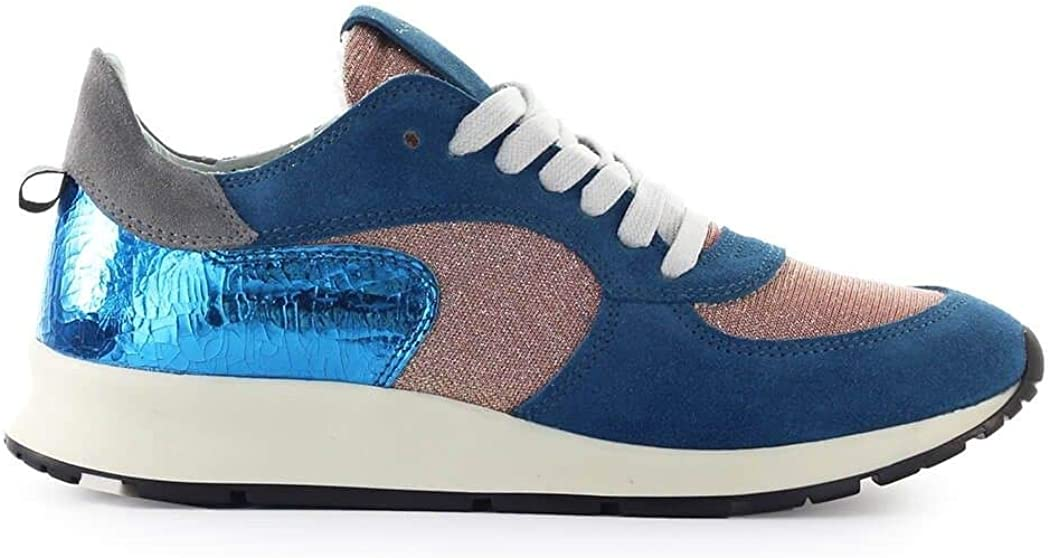 Philippe Model Luxury Fashion Womens NTLDMG01 Blue Sneakers | Fall Winter 19 51hPKDjsZtLUL1050_