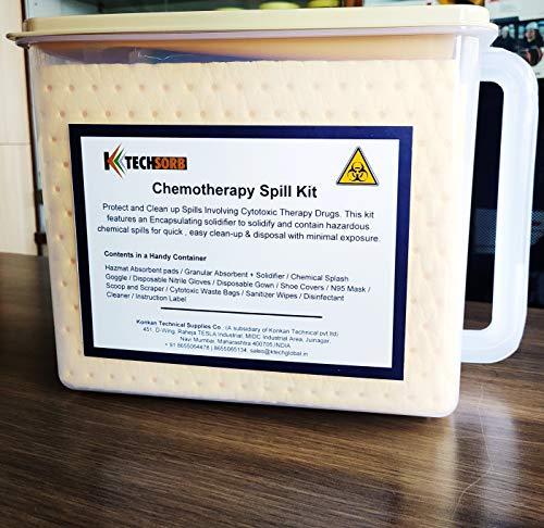 KTECHGLOBAL Cytotoxic Bio Hazard Spill Kit (Chemotherapy) Price & Reviews