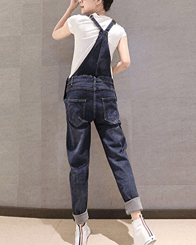 Alta Fit Picture Denim As Pants Jeans Casual Vita Donna Slim Pantaloni Siamesi Lavaggio Fionda xCOnTRwqI5