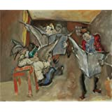 Canvas Prints Of Oil Painting ' Max Weber,Latest News,1941 ' , 30 x 37 inch / 76 x 93 cm , High Quality Polyster Canvas Is For Gifts And Hallway, Home Theater And Powder Room Decoration, graphs