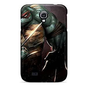 Unique Design Galaxy S4 Durable Tpu Case Cover Raphael Teenage Mutant Ninja Turtles