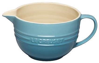 Le Creuset Stoneware 2-Quart Batter Bowl, Caribbean