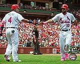 "Yadier Molina Matt Carpenter St. Louis Cardinals MLB Action Photo (Size: 8"" x 10"")"