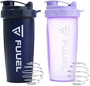 Fuuel 2 Pack Protein Shaker 24oz