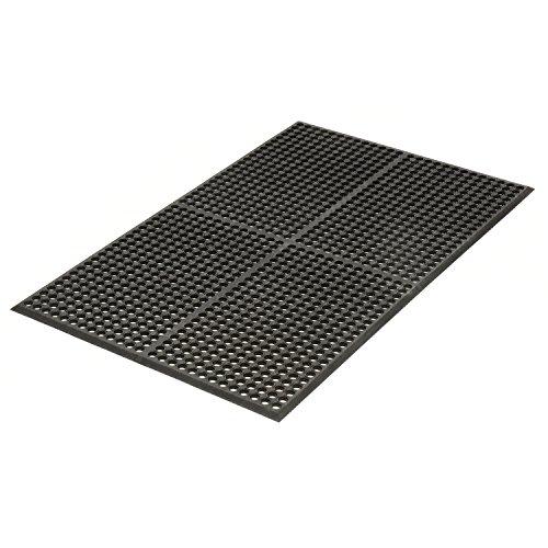 Resistant Drainage Mat, Black, 36 x 60