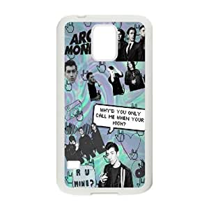 Custom High Quality WUCHAOGUI Phone case Arctic Monkeys Music Band Protective Case For Samsung Galaxy S5 - Case-8