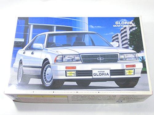絶版 デットストック NISSAN GLORIA E- Y31 CEDRIC GRAN TURISMO-SV プラモデル アオシマ