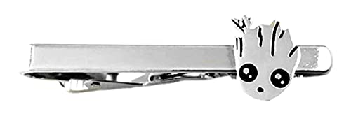Athena Brands DP Logo Fashion Novelty Tie Bar Clip Movie Comic Series with Gift Box