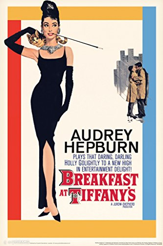 Audrey Hepburn (Breakfast at Tiffany's) Movie Poster - 11x17 Collections Poster Print, 11x17 (Breakfast Tiffanys Movie Poster)