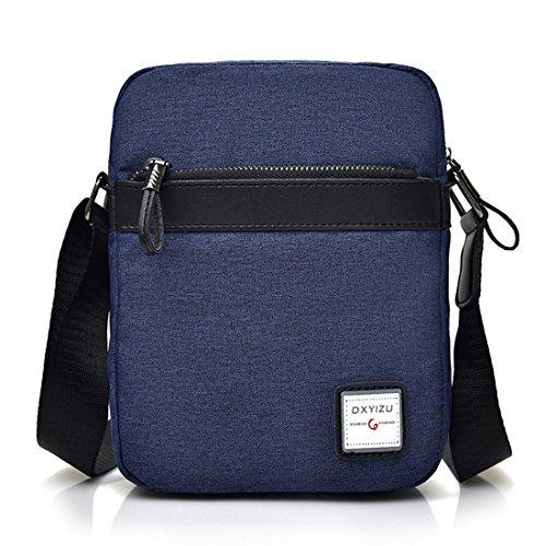 UNYU Messenger Bag - Bolso al hombro para hombre Azul