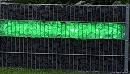 Orgon Gabion Led 360 0 85 M Rgb Touchcont Plastique Transparent