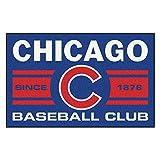 FANMATS 18463 Chicago Cubs Baseball Club Starter Rug