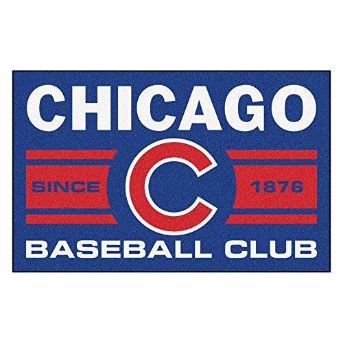 MLB Chicago Cubs Starter Mat Rectangular Area - Chicago Tufted Cubs Rug Mlb