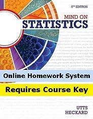 Aplia for Utts/Heckard's Mind on Statistics, 5th Edition