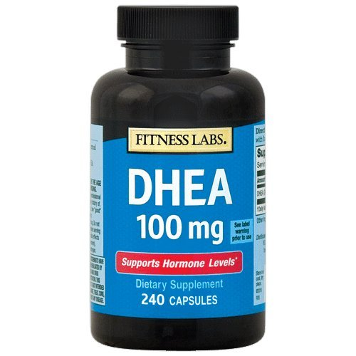 Fitness Labs DHEA 100 mg, 240 Capsules