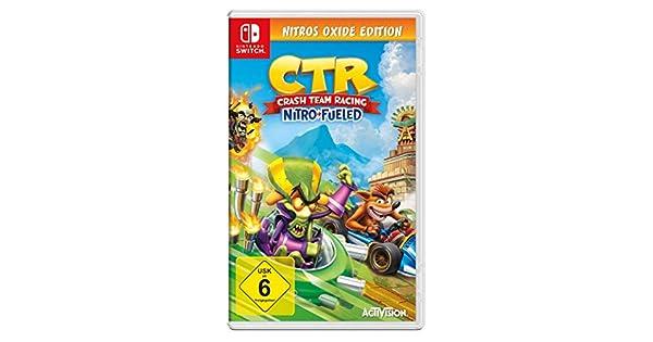 Crash Team Racing Nitro Fueled - Nitros Oxide Edition - Nintendo Switch [Importación alemana]: Amazon.es: Videojuegos