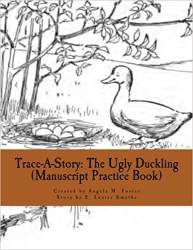 Book Trace-A-Story: The Ugly Duckling (Manuscript Practice Book)