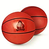 Colonel Pickles Novelties Pool Basketball 2-Pack – Ideal Water Basketballs for Safe Play – No Slip Grip – Two Balls Included