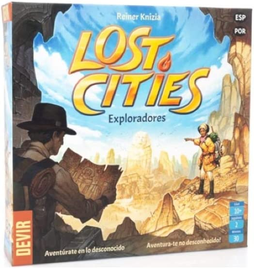 Devir-Lost Cities: Exploradores (Ed. En Castellano y por ...