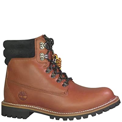 Timberland Men's 6 Inch Premium Waterproof Boots Medium Brown 9 | Snow Boots