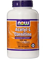 (瘦身) NOW FOODS  顶级乙酰左旋肉碱Acetyl L-Carnitine  500mg 200粒 $24.98