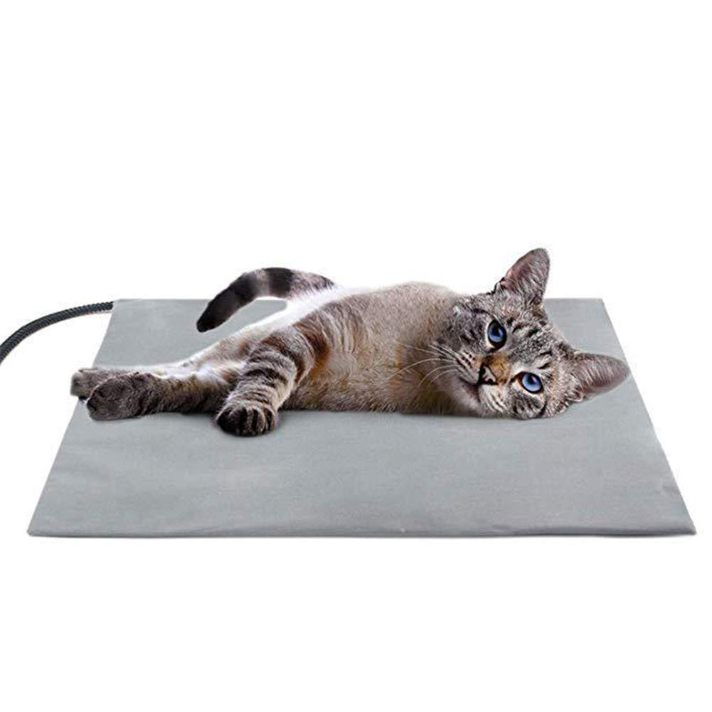 Pet Heating Pad,Dog House Heater Electric Heating Pad for Dogs and Cats Indoor Warming Mat with 15.7  X 17.7