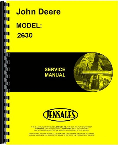 John Deere 2630 Tractor Service Manual JD-S-TM1085