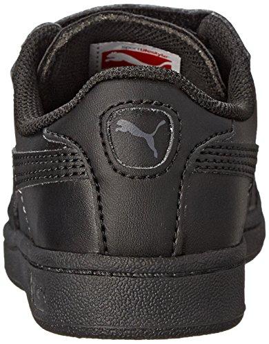 Negro Shadow Little Toddler Puma Kids Dark Cuero V Sneaker qORARnxY