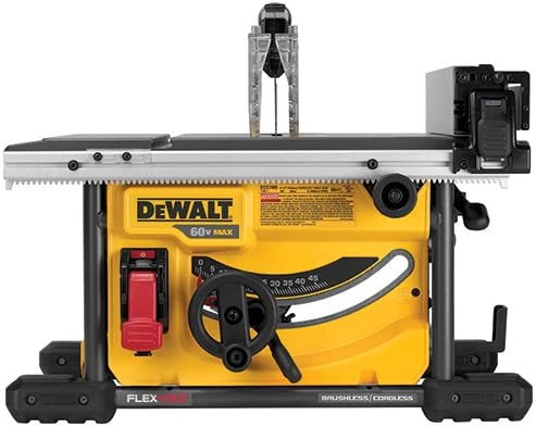 DEWALT DCS7485B FLEXVOLT 60V MAX Table Saw, 8-1 4 Tool Only