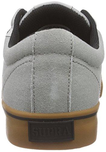 Basses Sneakers Supra Vulc Gris Grey Gum Stacks Mixte Adulte Ggm II Cwqx1Itrq