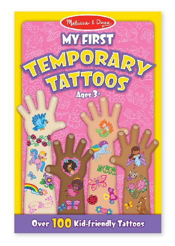 Melissa Doug First Temporary Tattoos
