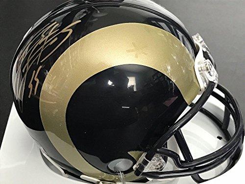 James Laurinaitis Autographed Mini Helmet - Riddell - JSA Certified - Autographed NFL Mini Helmets ()