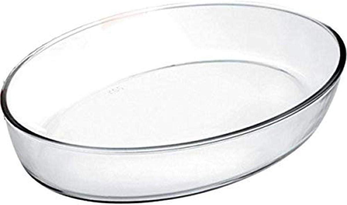IBILI 480126 - Fuente Horno Oval Kristall 26X18X6 Cm: Amazon.es: Hogar