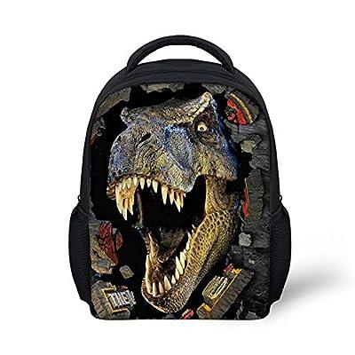 acdde95dfdcc doginthehole Crazy Dinasour Bulldog Horse Printing School Bags for ...