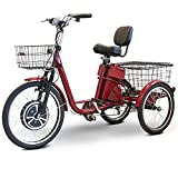 EWheels EW-29 Electric Trike Scooter-Red