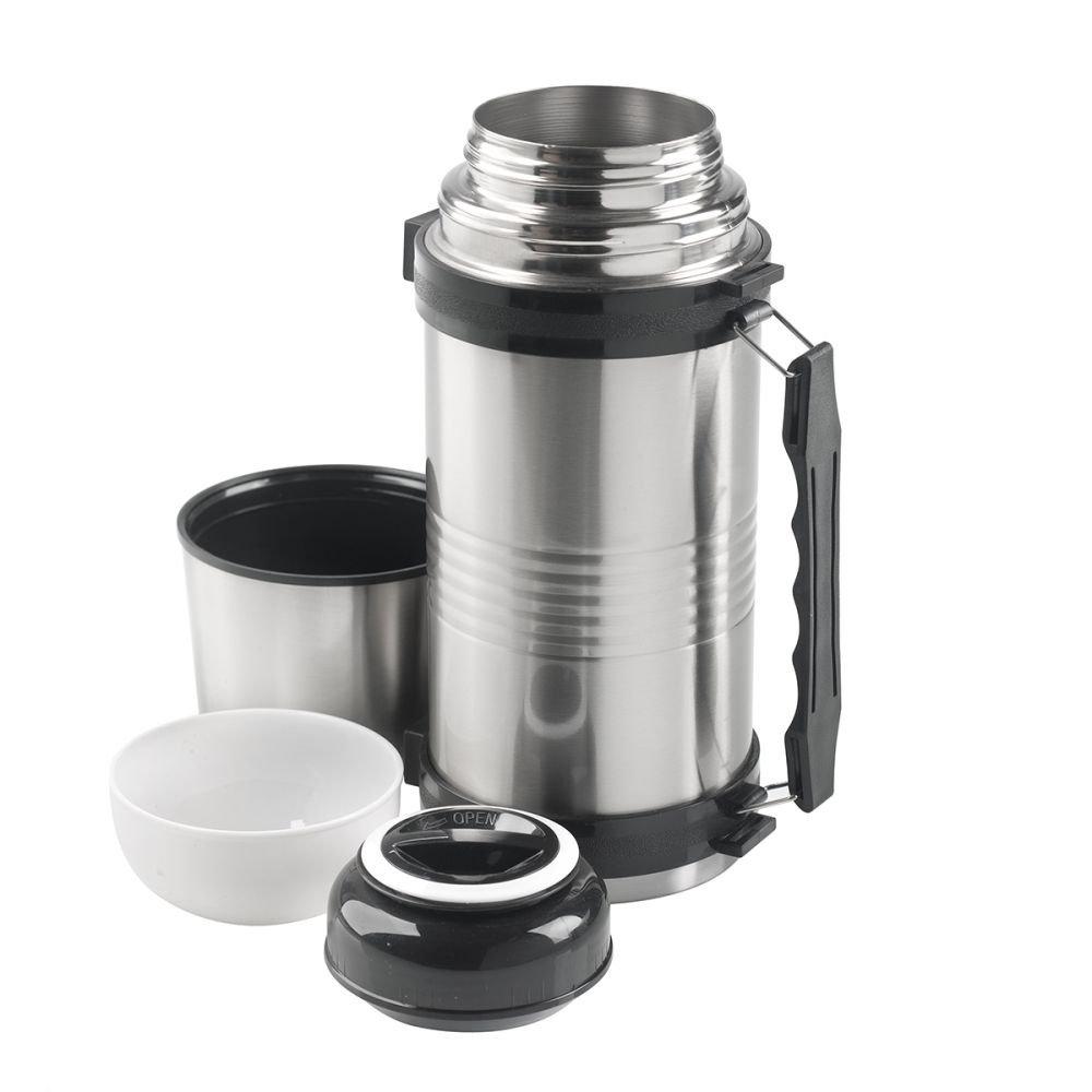 Termo vacío 1,2 l MacGyver Vacuum Flash isoleerfles - Termo Alimentos Almacenamiento - Recipiente isotérmico Outdoor: Amazon.es: Hogar