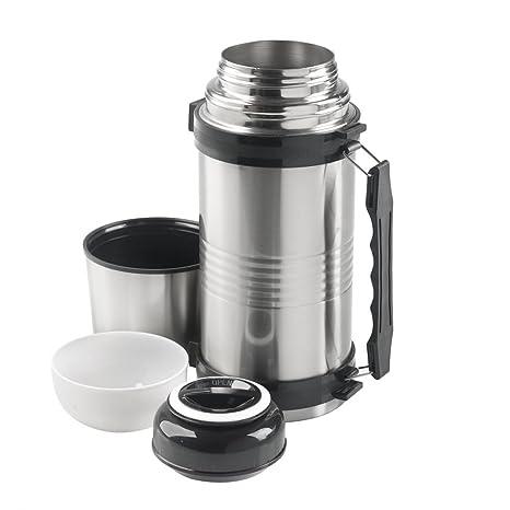 Termo vacío 1,2 l MacGyver Vacuum Flash isoleerfles – Termo Alimentos Almacenamiento – Recipiente