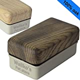 buy Magnetic Aquarium Glass Algae Cleaner – Removes Algae from Fish Tank easily – Floating inner brush – Handmade and Unique Wood Design by Wallko - Large/XL, Burned Oak now, new 2018-2017 bestseller, review and Photo, best price $31.50