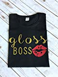 Gloss Boss Shirt Lipsense Shirt Lipgloss shirt Makeup shirt Lipstick tee Lipsense Favorites Shirt Direct Sales Shirt Lipsense TShirt