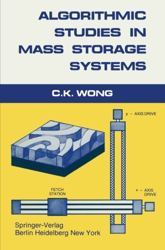 Algorithmic Studies in Mass Storage Systems by Brand: Springer