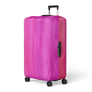 3387bc29bd66 Amazon.com: Pinbeam Luggage Cover Colorful Bright Hot Pink ...