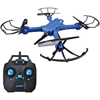 RC Drone with Camera, JJRC H38WH 2.4G 4CH Four-axis aircraft RC Quadcopters WIFI 3D Rotation Helicopters Remote Control Drone Toys FPV Drone with camera ,Wide Angle HD Camera
