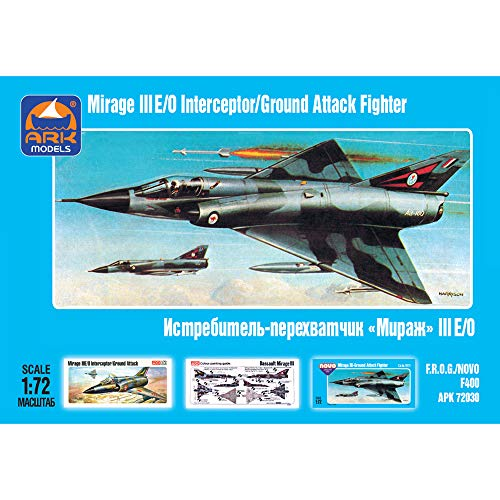 Dassault Mirage III French Single-seat Jet Fighter Russian Aircraft Model Kits Scale 1:72