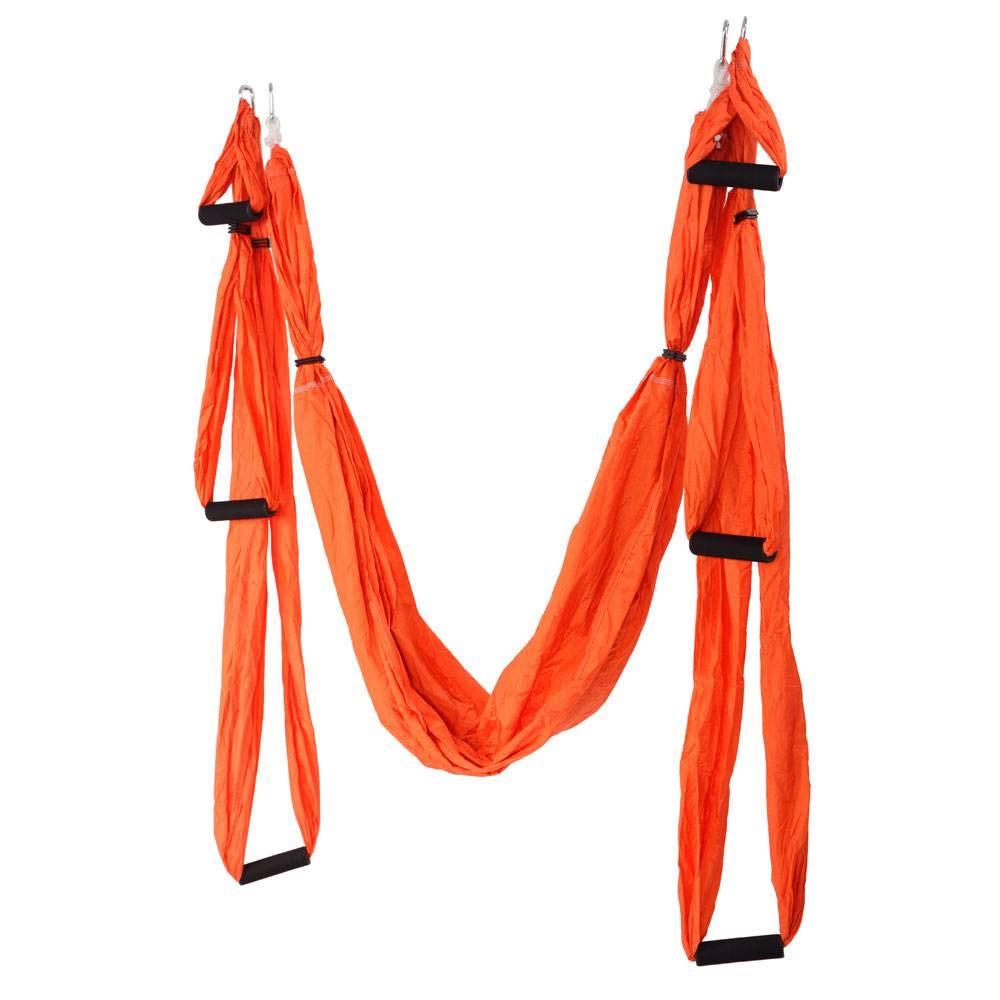 SSLW Anti-Gravitations-Luft Yoga Hängematte Orange