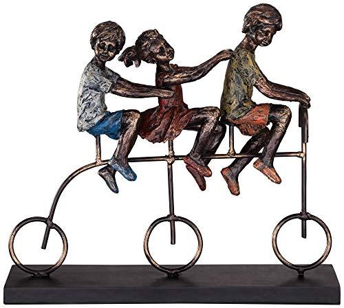 - Dahlia Studios Children Riding Bike 12 3/4