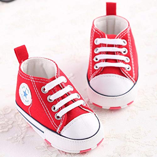 Amazon.com: FidgetKute Zapatos Comodos Zapatitos de Bebe Baby Niña Niño Zapatillas de Recien Nacido Azul 0-6 meses: Clothing